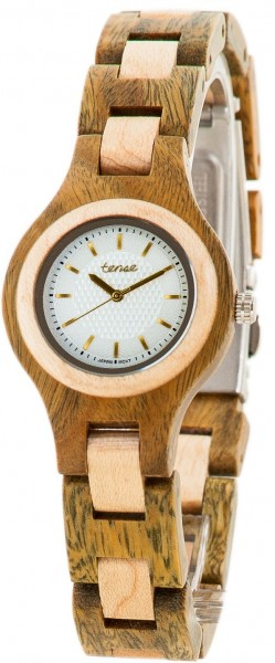 TENSE Holzuhr // Womens Pacific Greenwood Ahornholz