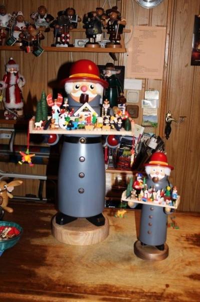 Spielzeughändler Räuchermann 60cm XXL